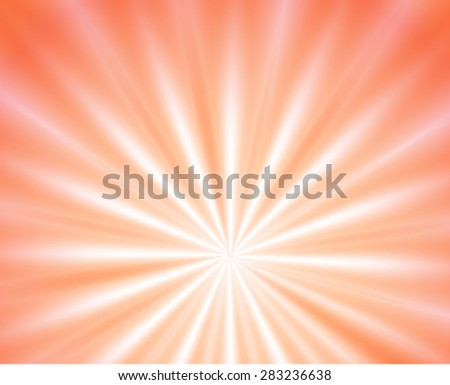 sunburst rays of sunlight