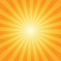 Sunburst rays sunbeam background vector