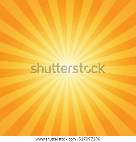 sunburst rays sunbeam