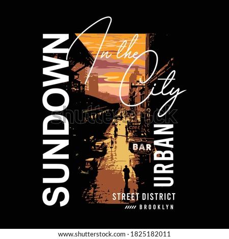 sundown in the city slogan with