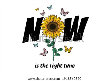 sunflower butterfly daisy spring dreamer butterflies and daisies positive quote flower design margarita  mariposa stationery,mug,t shirt,phone case fashion slogan  style spring summer sticker