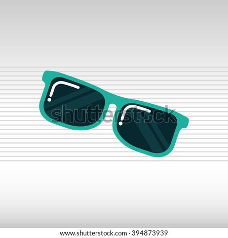 sunglass  icon  design