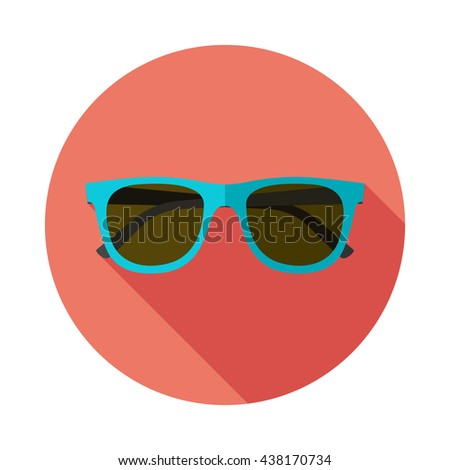 sunglasses icon with long