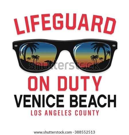 sunglasses lifeguard beach