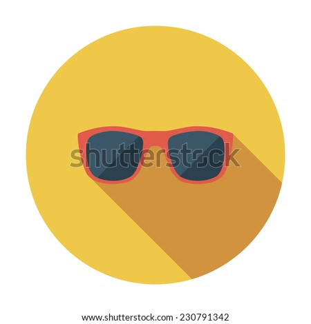 sunglasses single flat color