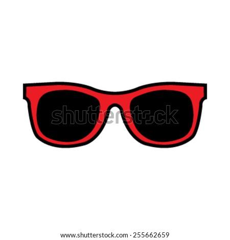 Sunglasses Vector Icon #255662659