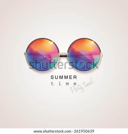 sunglasses with vivid