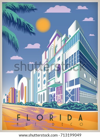 sunny day in florida  usa