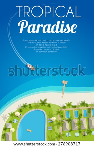 sunny summer background with