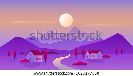 sunrise or sunset village