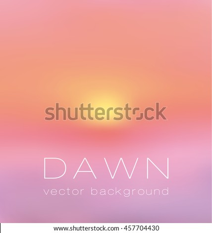 sunrise pastel pink concept