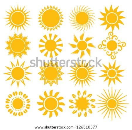 suns - elements for design