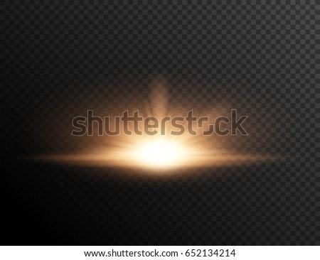 sunset or sunrise on