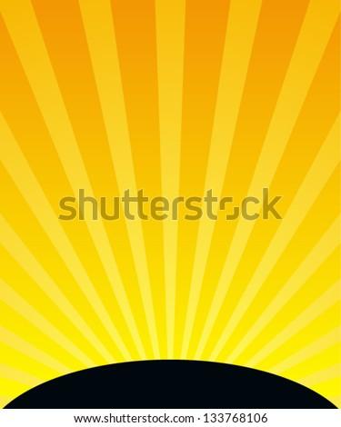 sunset vertical background