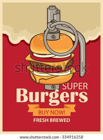 super burger in military