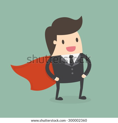 super businessman business