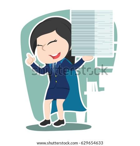 super chinese businesswoman