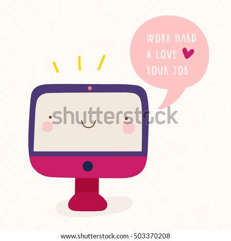 super cute illustration of