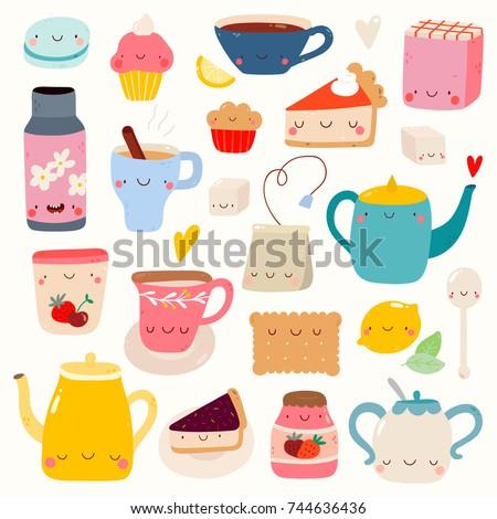 super cute set of tea and