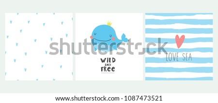 Super cute whale.