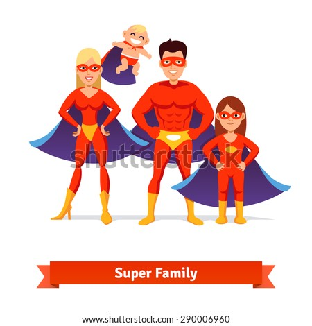 super family superhero man