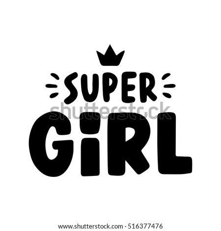 super girl. quote for banner....