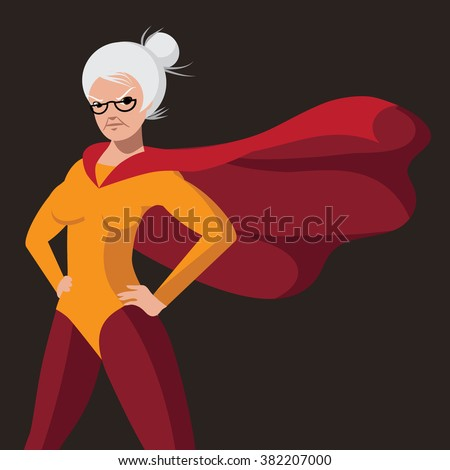 royalty free stock photos and images super grandmother