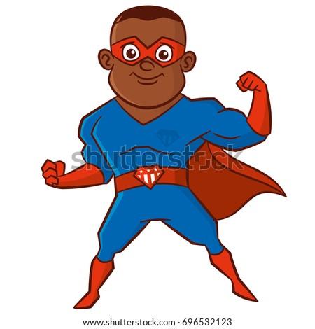 super hero african american man