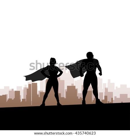 super hero city