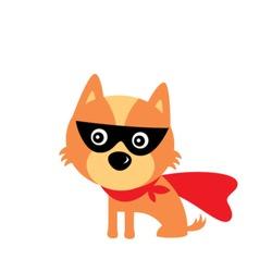 super hero puppy dog