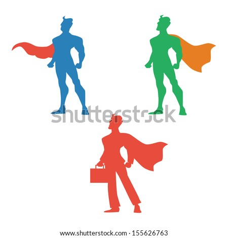 super hero vector illustration