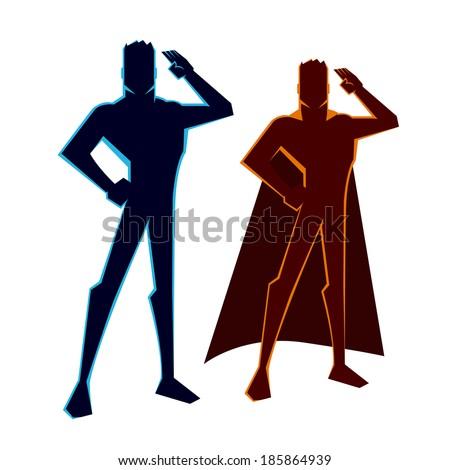 super heroes salutes