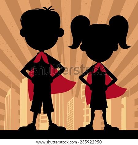 super kids 2  square banner of