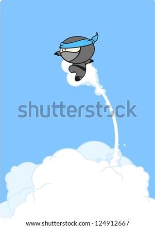 super ninja jump