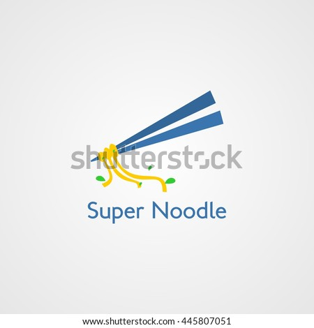 super noodle restaurant vector
