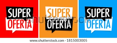 Super Oferta : Polish translation, for Great offer Foto stock ©