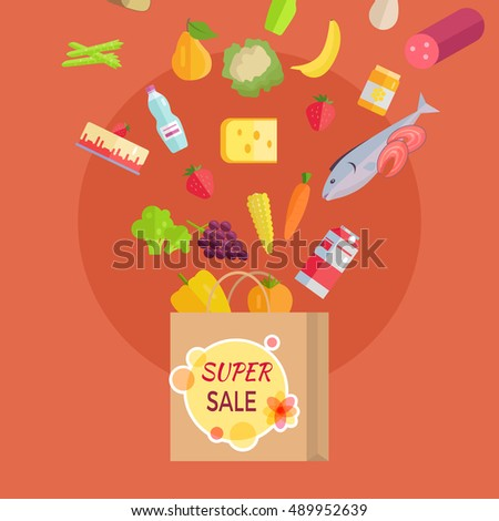 super sale at grocery