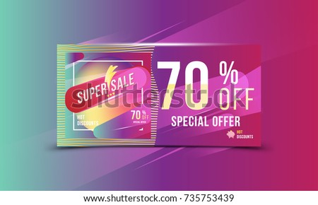 Flash Sale Promotional Banner Template For Marketing Download Free