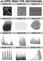 super  set of black brush . Paint, ink, grunge, brushes, lines. Dirty artistic design elements, boxes, frames. Freehand drawing. Vector illustration and brush Photoshop. Isolated on white background .