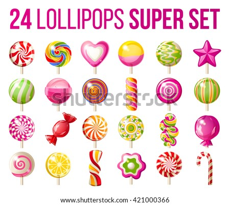 super set of lollipops   25