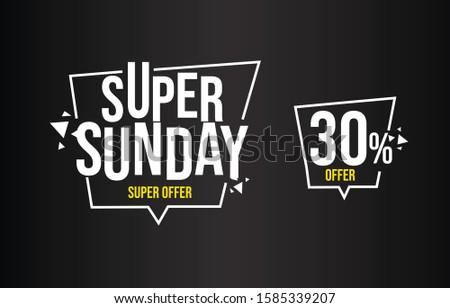 super sunday  special offer