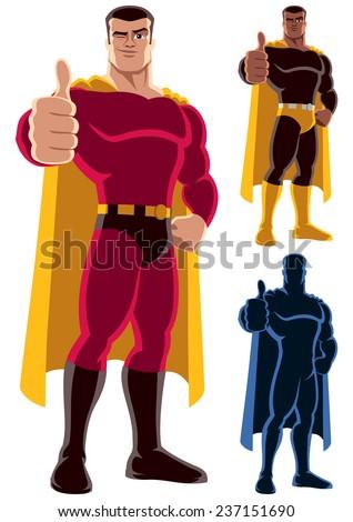 superhero approving  superhero