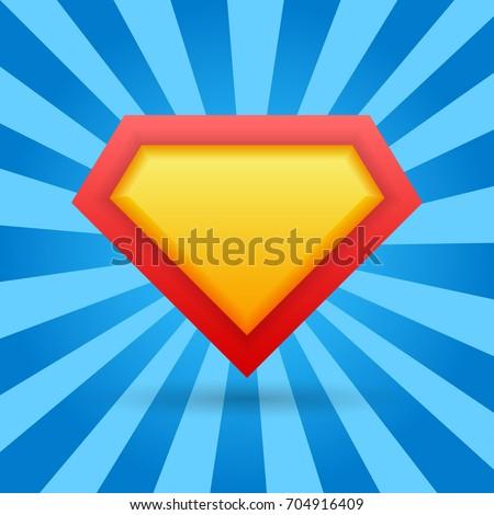 superhero background vector