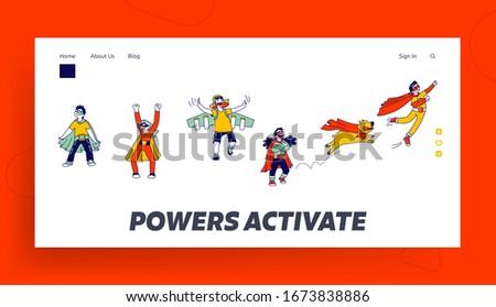 superhero children characters
