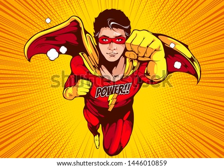 superhero comic cover template