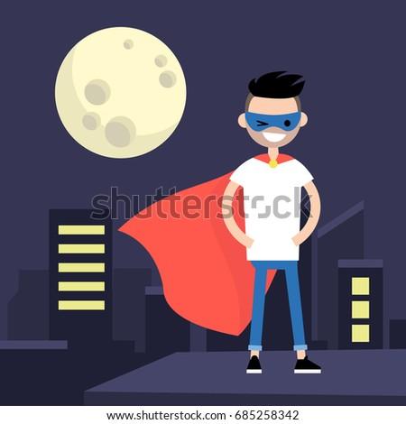 superhero conceptual