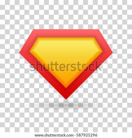 superhero icon  logo vector