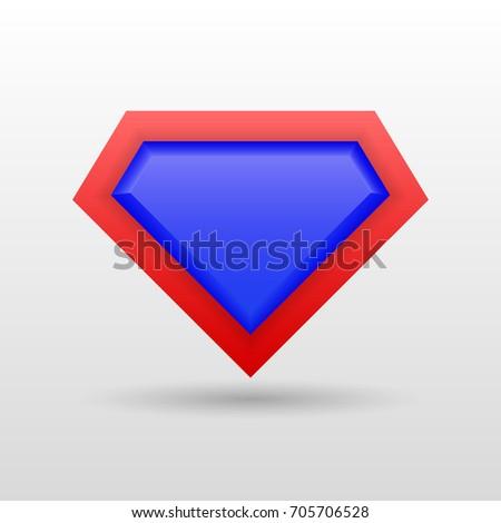 superhero icon  logo vector