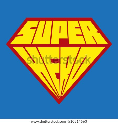 Superhero Vector Logos