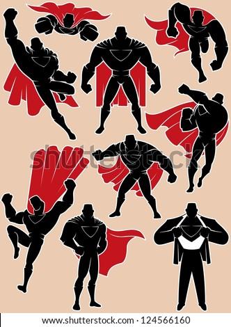 superhero in action  superhero
